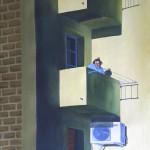 AlejandroAntón, Ella en el balcón